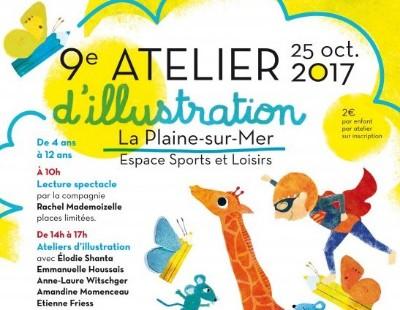 25 10 2017 9ème Edition de l Atelier d Illustration à la Plaine sur Mer 4429724ceab