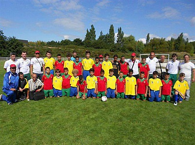 Pornic - 29/08/2013 - Tournoi foot international : Pornic et Fontainebleau champions