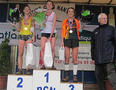 Pornic - 15/01/2014 - Cross-country : L'ACL 44 met ses dames en avant