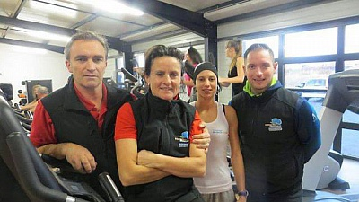 Pornic - 28/01/2015 - Pornic : L`Orange Bleue, nouveau club de fitness