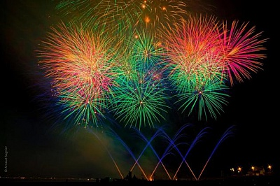 Pornic - 21/08/2015 - Pleins feux sur le Festival pyrotechnique international