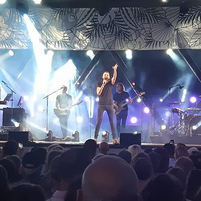 Pornic - 19/07/2018 - Christophe Willem à Pornic : le plein de photos